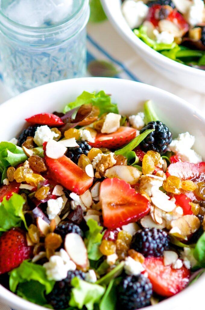 Springtime Mixed Berry Salad