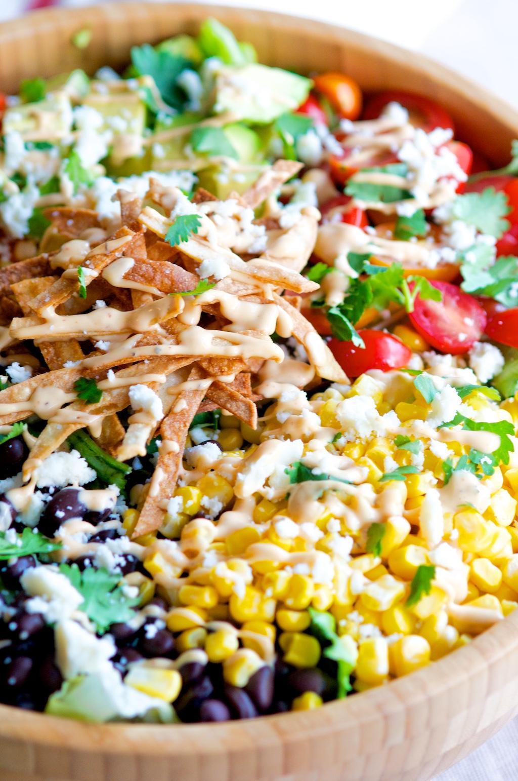 Southwest Chipotle Salad
