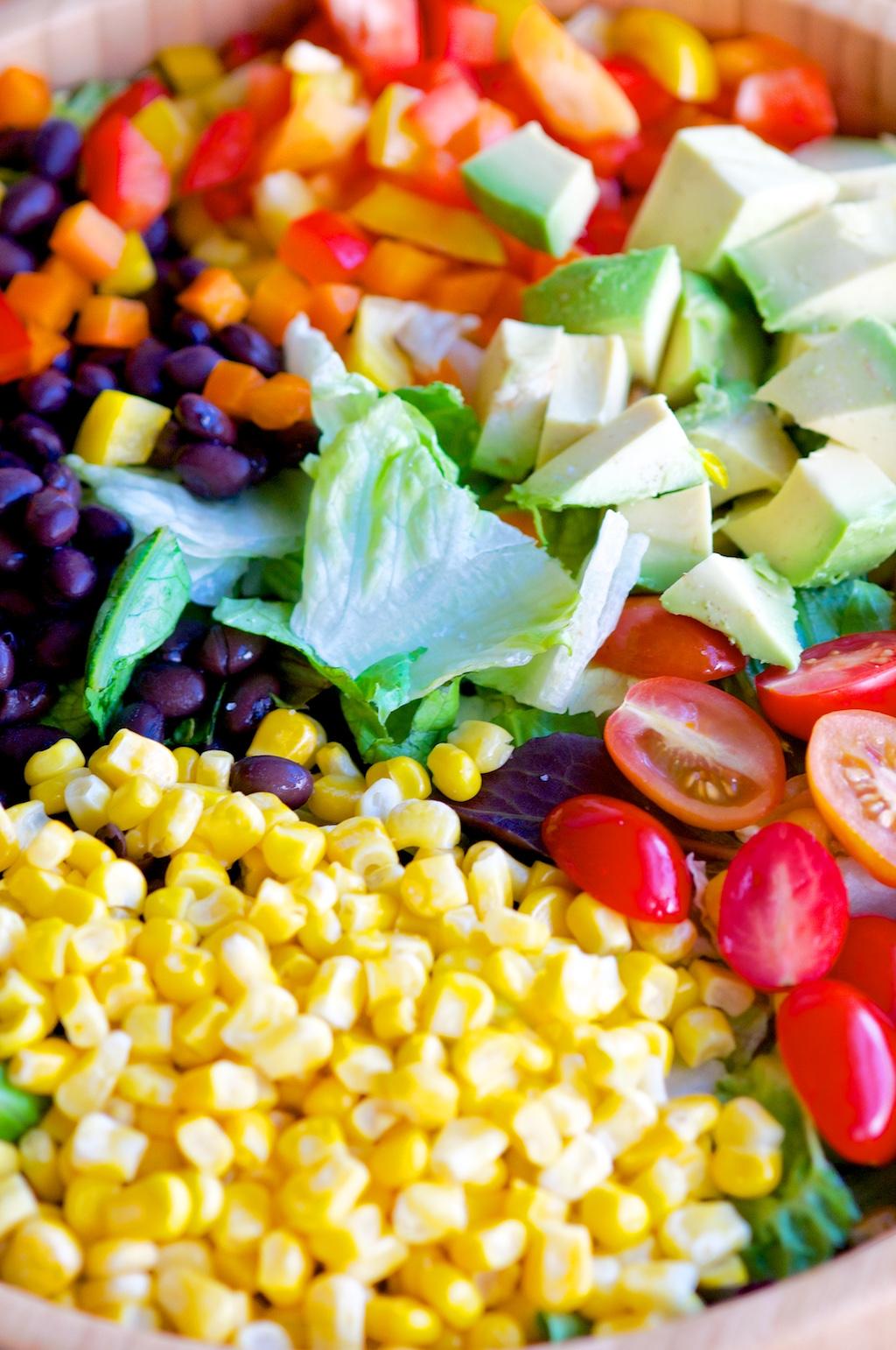 Southwestern Salad Mix