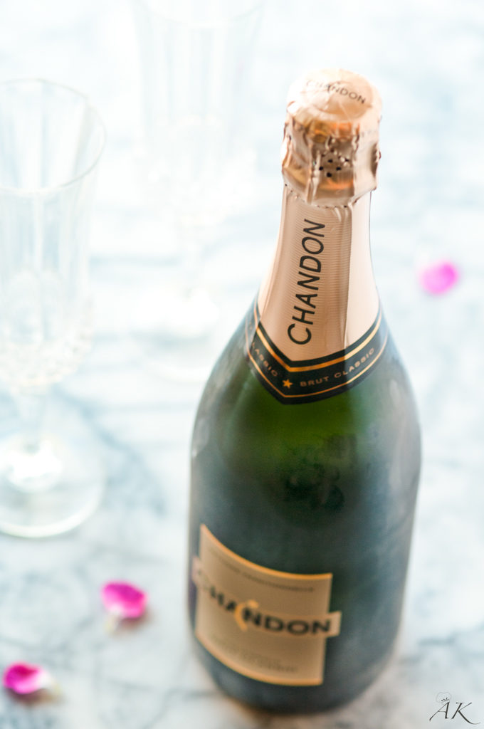 Chandon Champagne Bottle