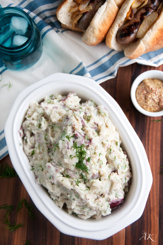 Fresh Dill and Red Potato Salad
