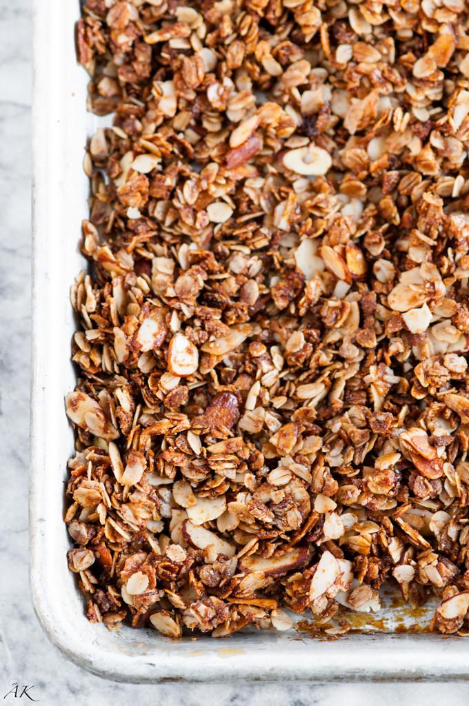 Vanilla Almond Granola-8