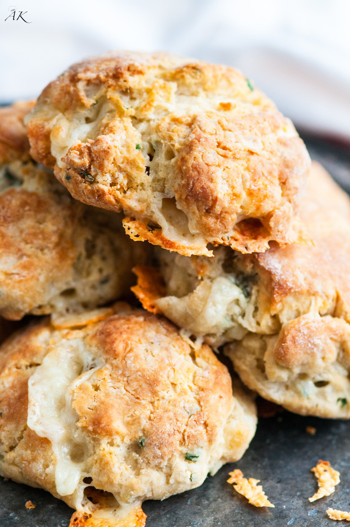 Blue Cheese Chive Biscuits