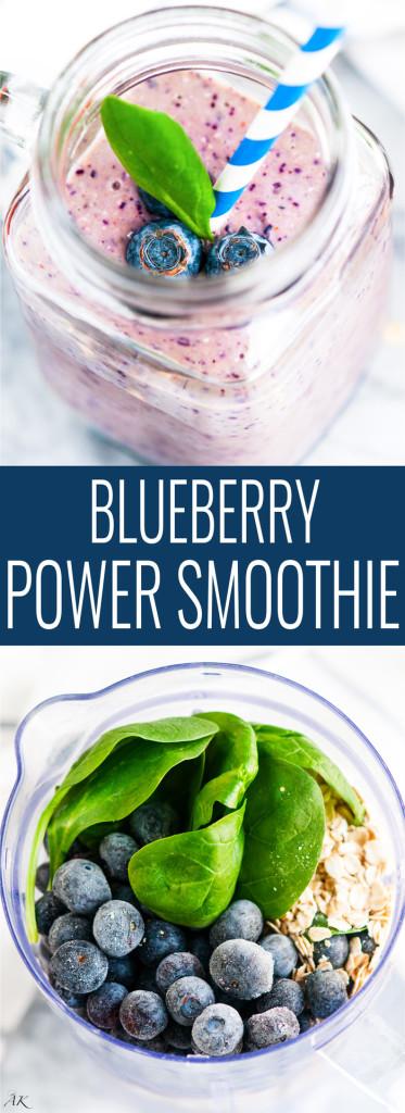 Blueberry Power Smoothie