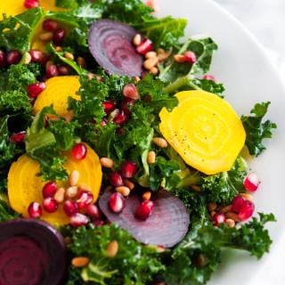 Winter Kale Beet Salad