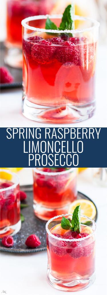 Raspberry Limoncello Prosecco