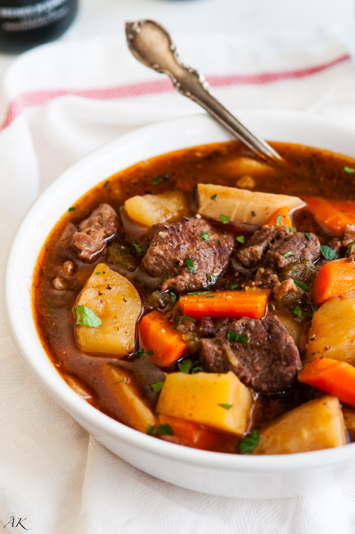 Slow Cooker Beef Pot Roast: Slow Cooker Guinness Beef Stew