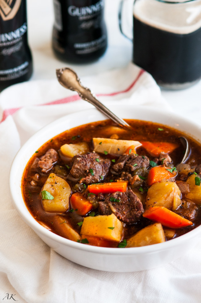 Slow Cooker Guiness Beef Stew