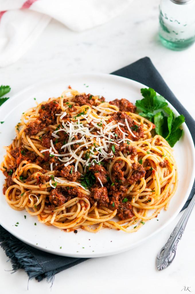 Simple Spaghetti Beef Sauce-2