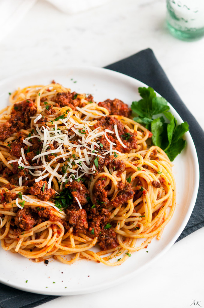 Simple Spaghetti Beef Sauce-3