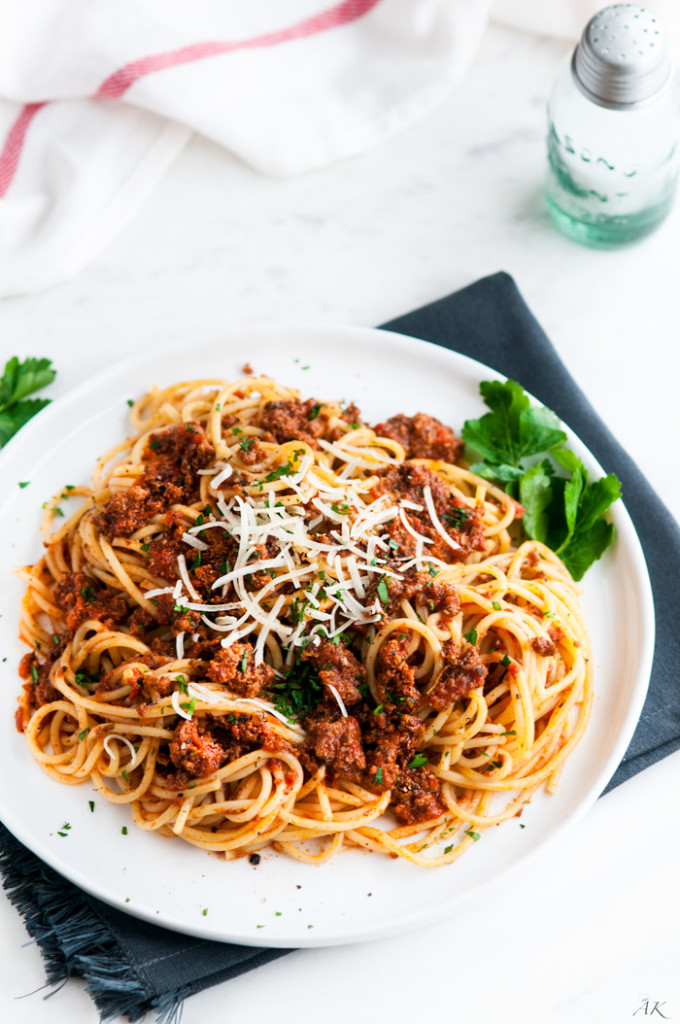 Simple Spaghetti Beef Sauce-4
