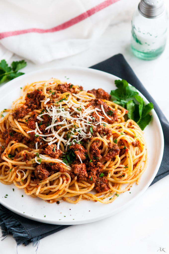 Simple Spaghetti Beef Sauce-5