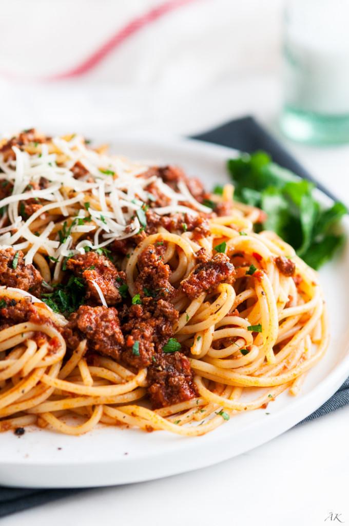 Simple Spaghetti Beef Sauce-6