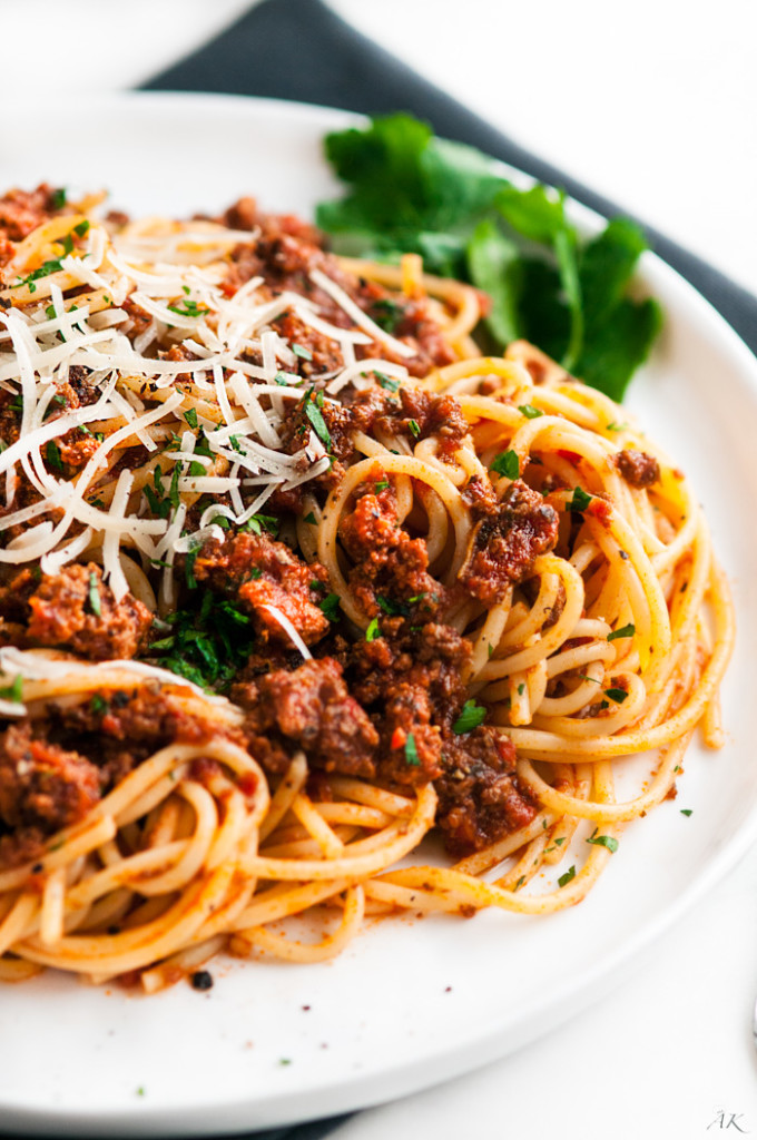 Simple Spaghetti Beef Sauce
