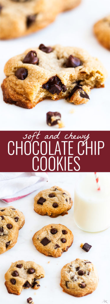 Soft and Chewy Chocolate Chip Cookies | aberdeenskitchen.com
