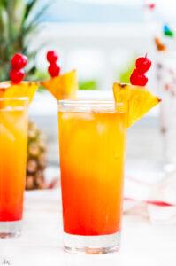 Tropical Mai Tai Cocktail | aberdeenskitchen.com