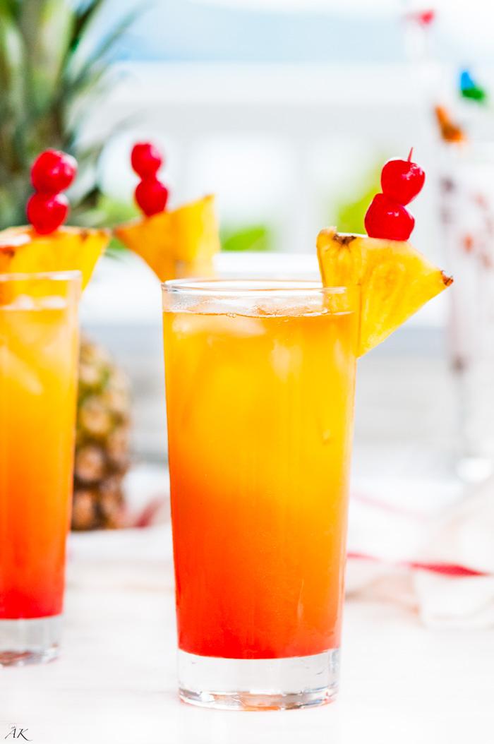 Mai Tai Cocktail Tropical Mai Tai Cockt...
