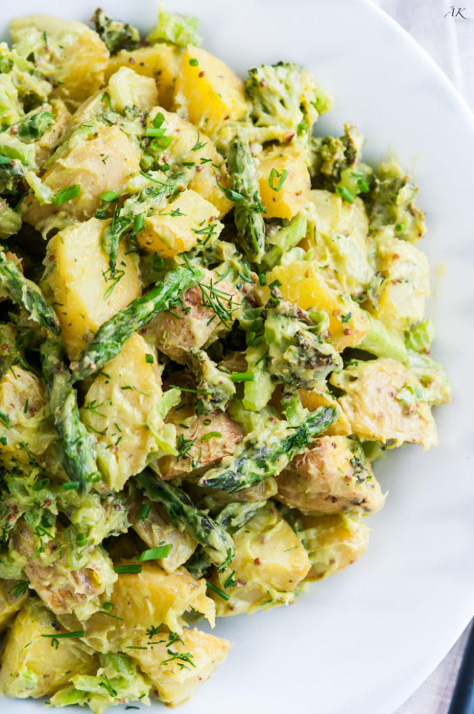 Creamy Avocado Potato Salad-6