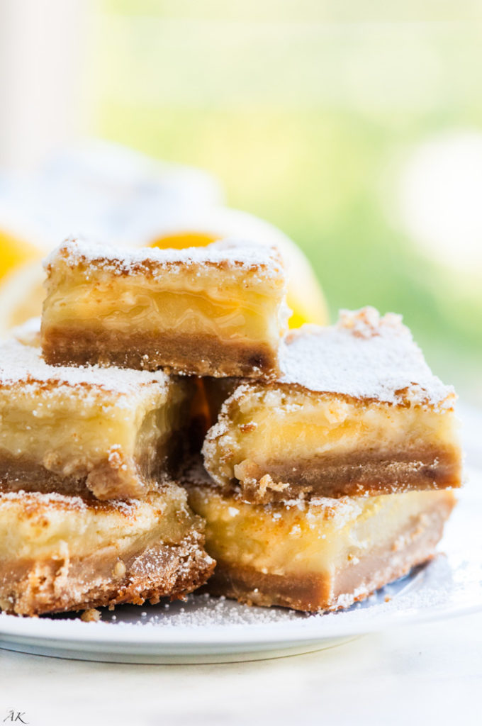 Brown Sugar Lemon Bars | aberdeenskitchen.com