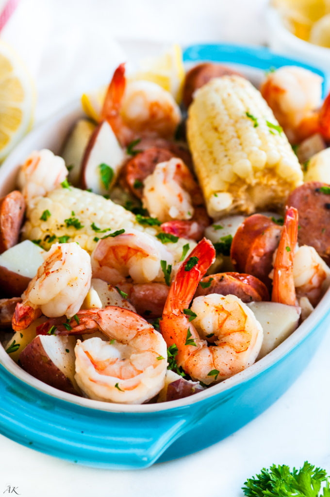 One Pot Creole Shrimp Boil | aberdeenskitchen.com