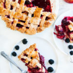 Apple Blackberry Pie | aberdeenskitchen.com