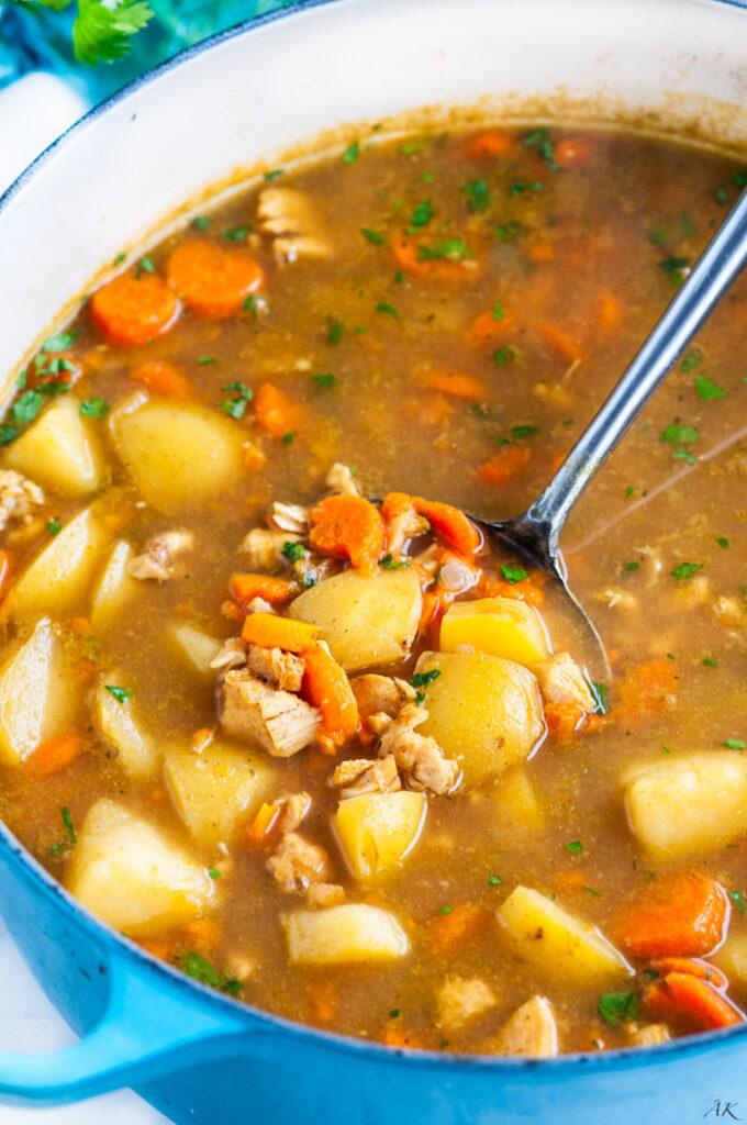 Curried Chicken Stew | aberdeenskitchen.com