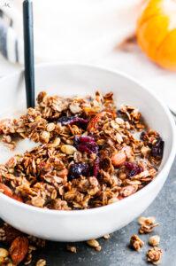 Pumpkin Spice Almond Granola | aberdeenskitchen.com