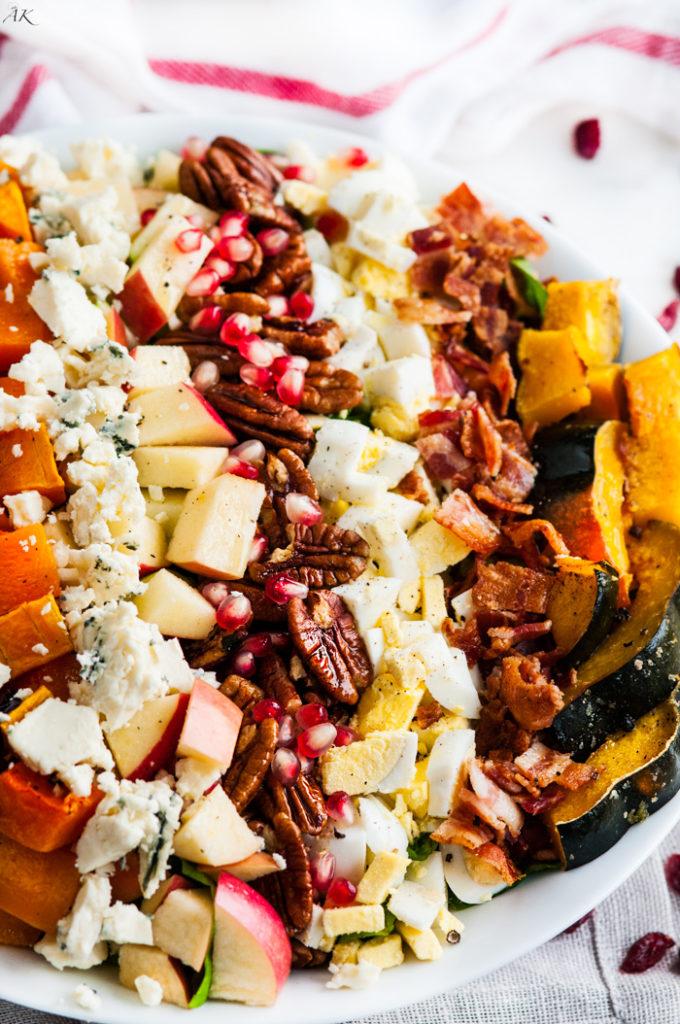 Fall Harvest Cobb Salad | aberdeenskitchen.com