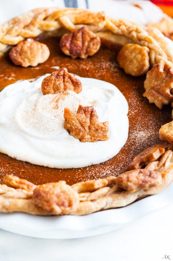Bourbon Buttermilk Pumpkin Pie | aberdeenskitchen.com