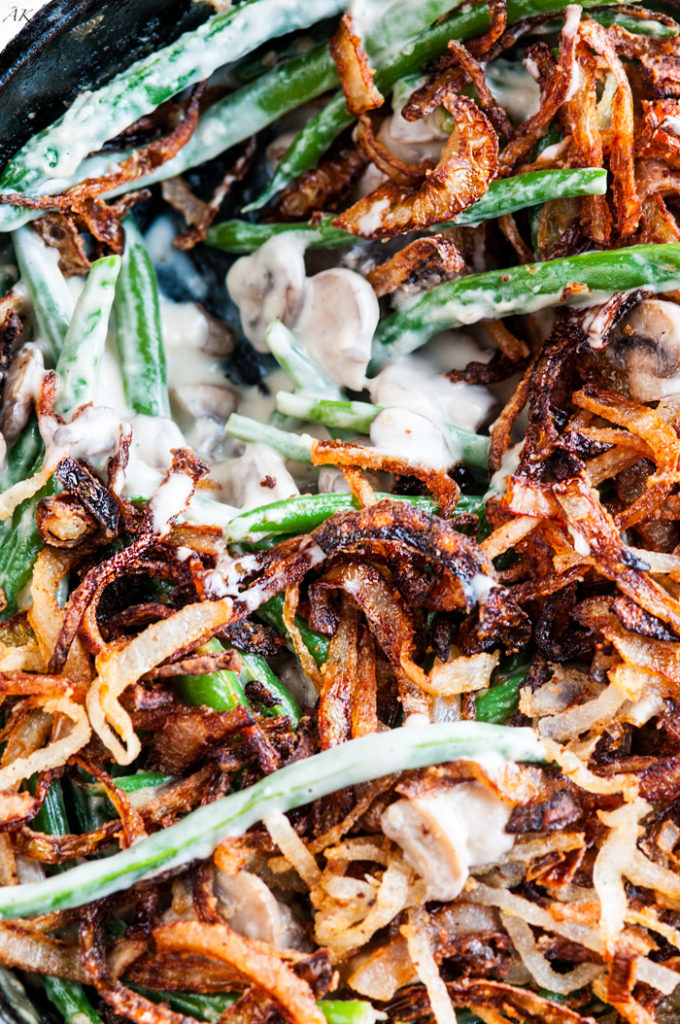 Homemade Green Bean Casserole | aberdeenskitchen.com