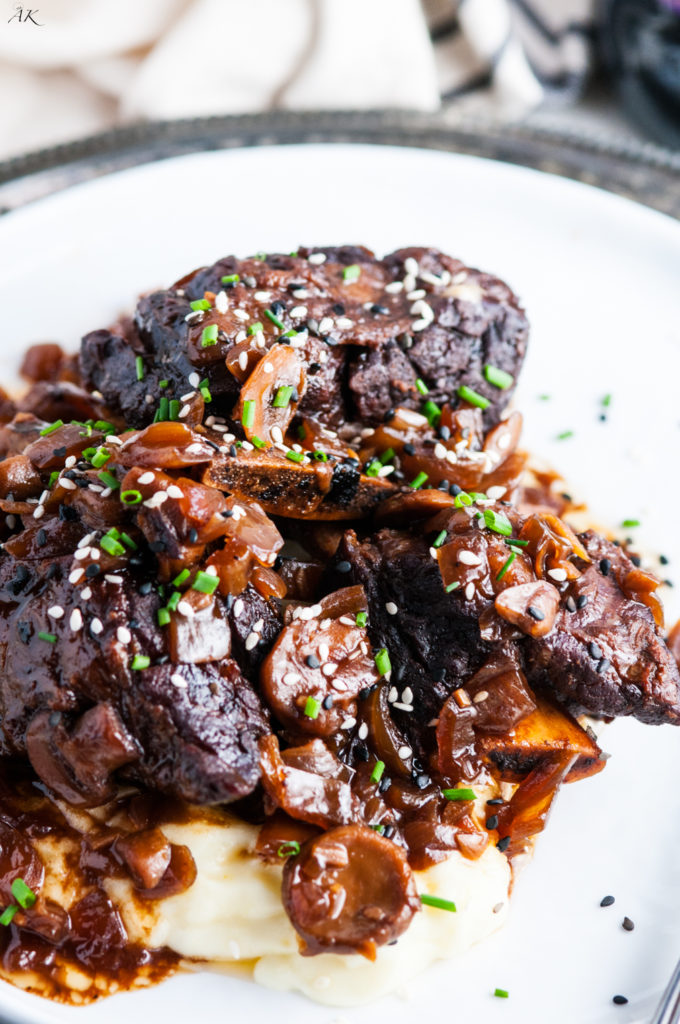 Crockpot Chocolate Stout Beef Short Ribs