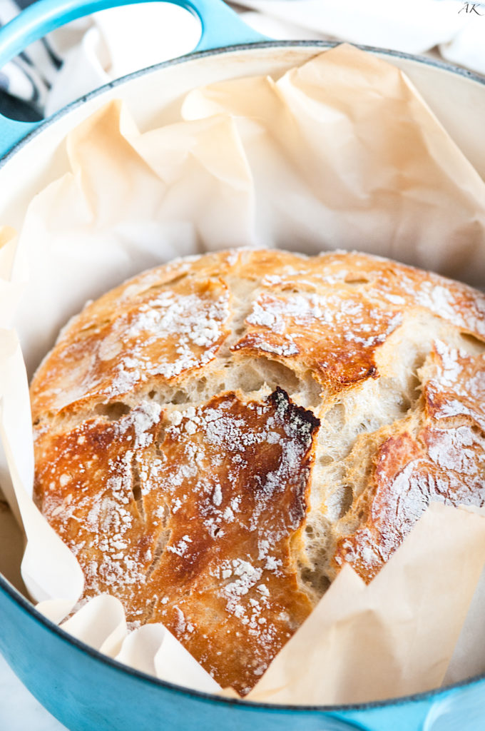 Foolproof Artisan No Knead Bread | aberdeenskitchen.com