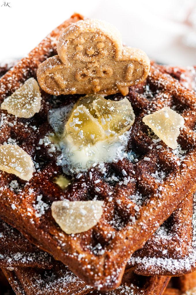 Gingerbread Waffles | aberdeenskitchen.com