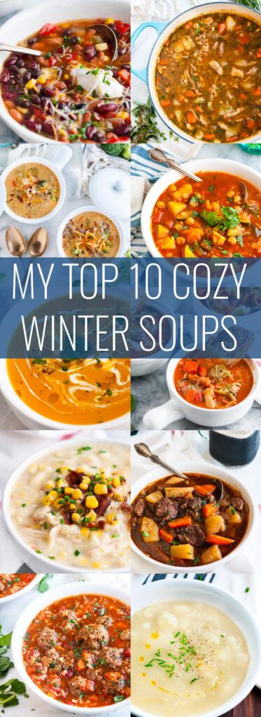 10 Cozy Winter Soups | aberdeenskitchen.com
