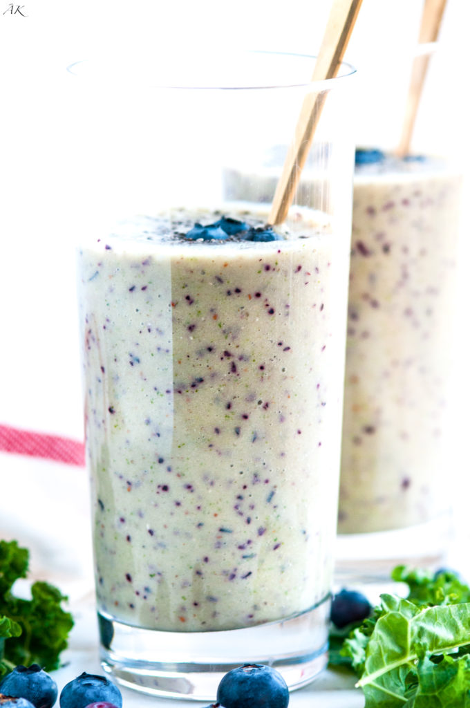 Energy Burst Healthy Morning Smoothie | aberdeenskitchen.com