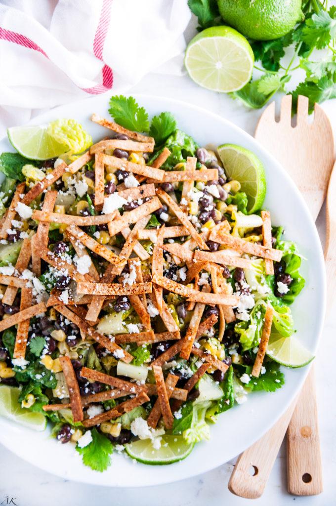 Mexican Caesar Salad | aberdeenskitchen.com