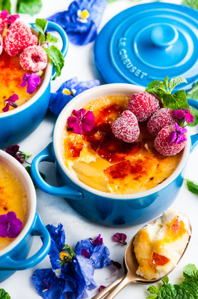 Easy Limoncello Creme Brulee | aberdeenskitchen.com