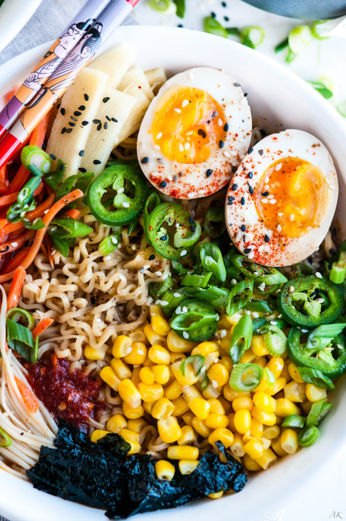 Easy Homemade Ramen with Soft Boiled Eggs | aberdeenskitchen.com