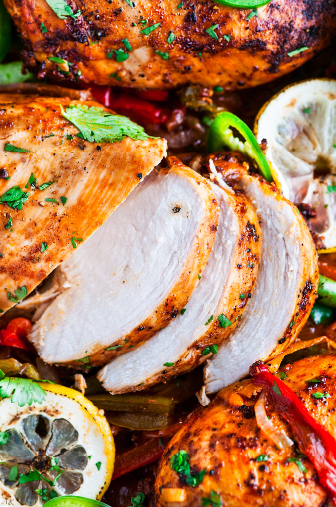 Spicy Red Pepper Lemon Chicken | aberdeenskitchen.com
