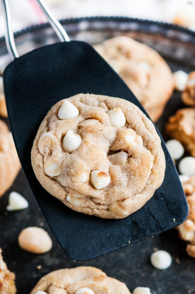 White Chocolate Chip Macadamia Nut Cookies - Aberdeen's Kitchen
