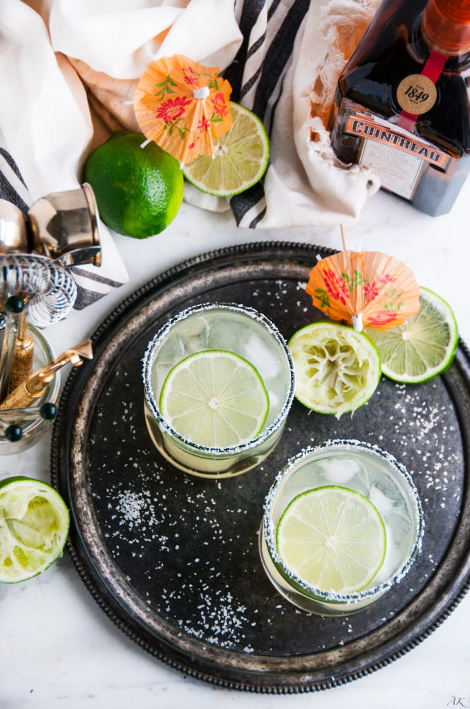 Classic Margaritas On The Rocks | aberdeenskitchen.com