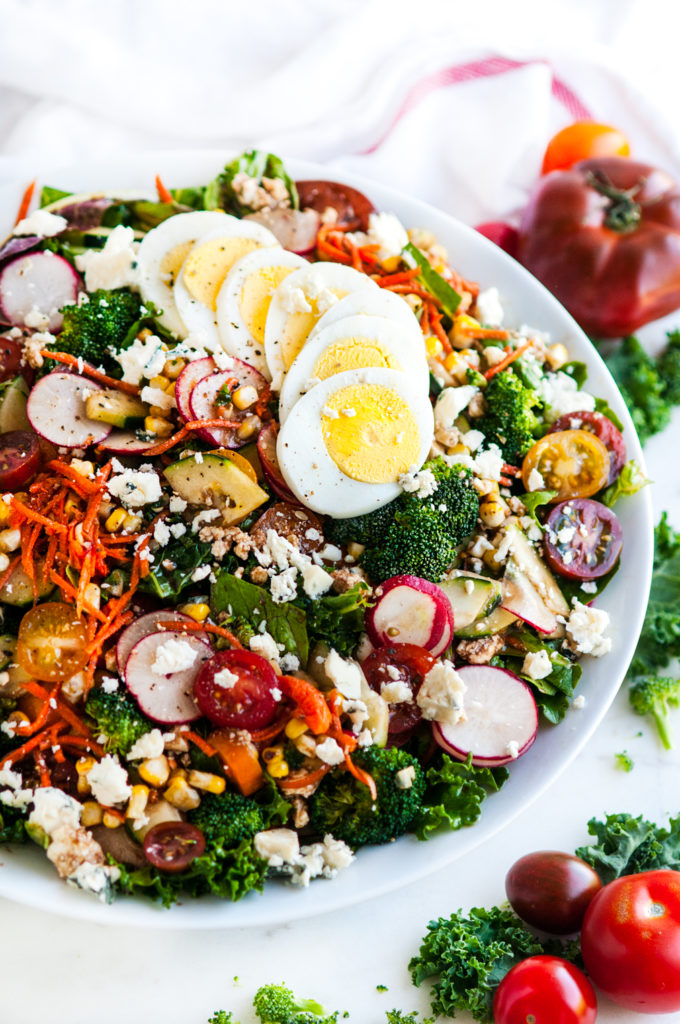 Loaded Chopped Veggie Salad