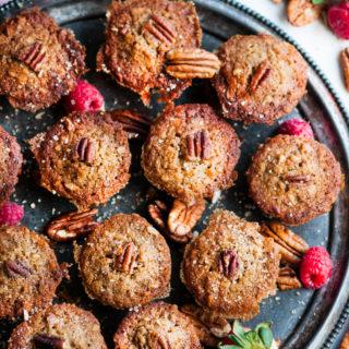 Pecan Spice Mini Muffins | aberdeenskitchen.com