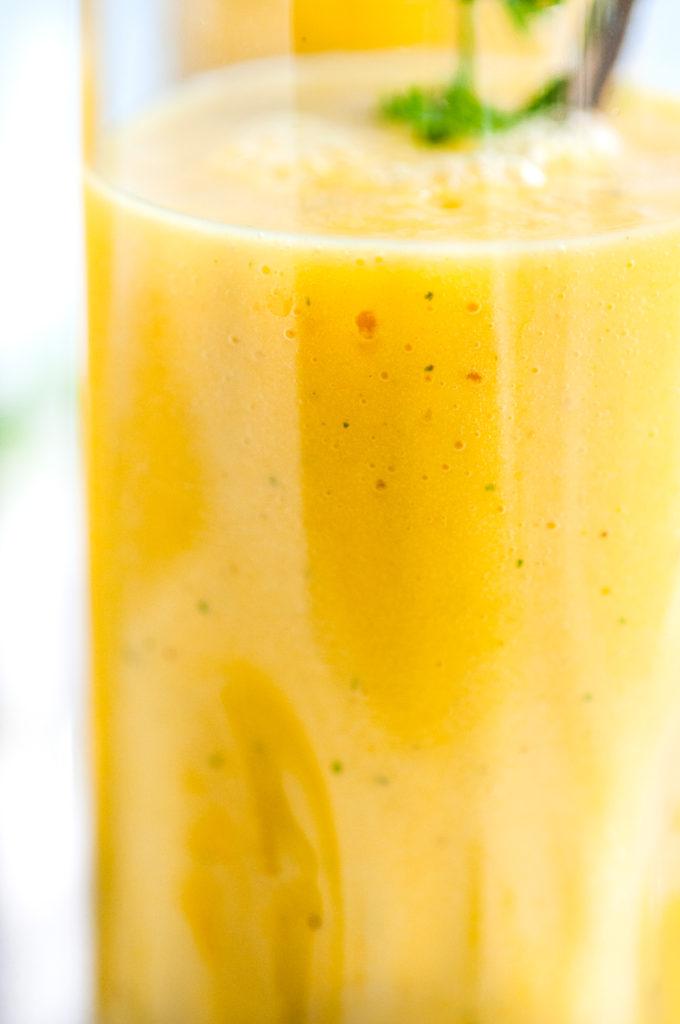 Golden Tumeric Fruit Smoothie | aberdeenskitchen.com