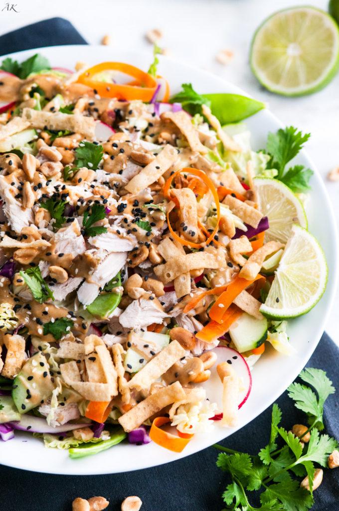 Crunchy Thai Chicken Salad Aberdeen S Kitchen