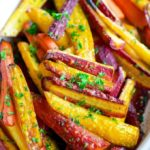 Glazed Rainbow Carrots | aberdeenskitchen.com