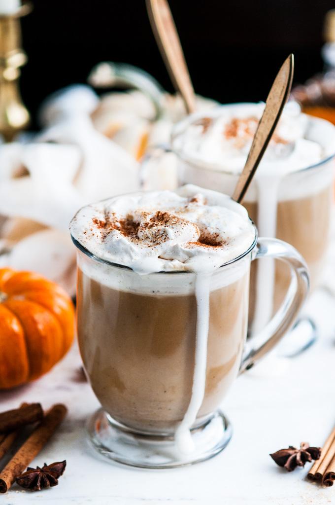 Pumpkin E Chai Tea Latte With Real