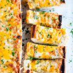 Three Cheese Garlic Herb Bread | aberdeenskitchen.com