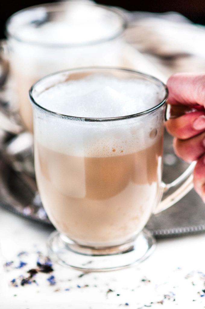 London Fog Tea Latte | aberdeenskitchen.com
