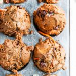 Healthy Carrot Walnut Muffins | aberdeenskitchen.com